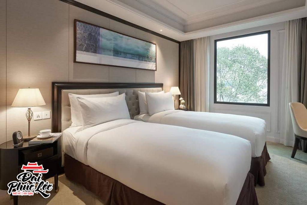 Thiết kế thi công nội thất khách sạn sang trọng và cao cấp