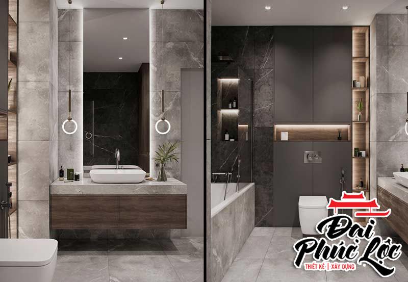 Nội thất phòng tắm căn hộ 70m2