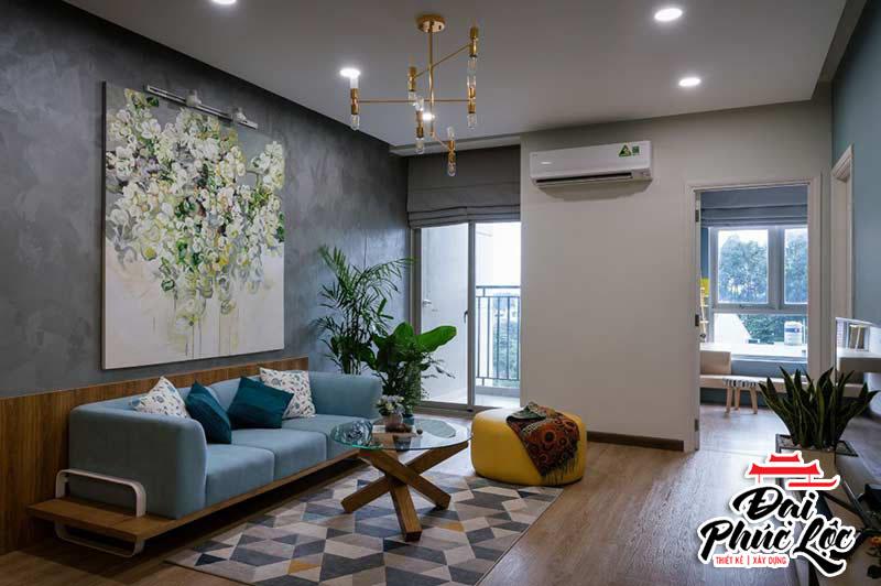 Mẫu thiết kế nội thất căn hộ hiện đại