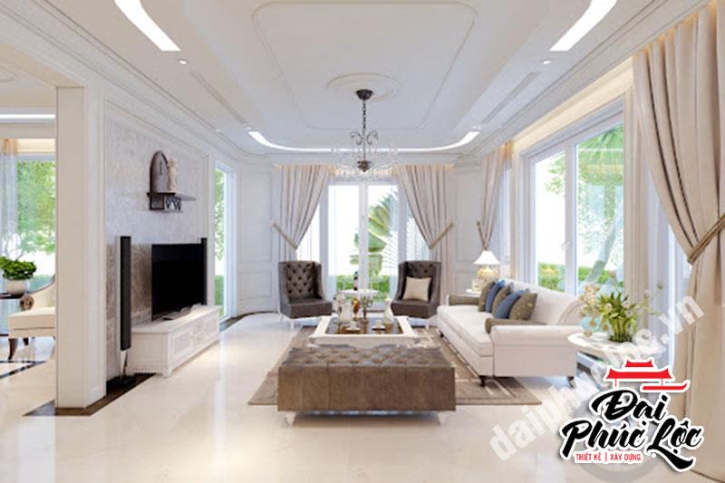 thiết kế nội thất biệt thự phong cách Scandinavian