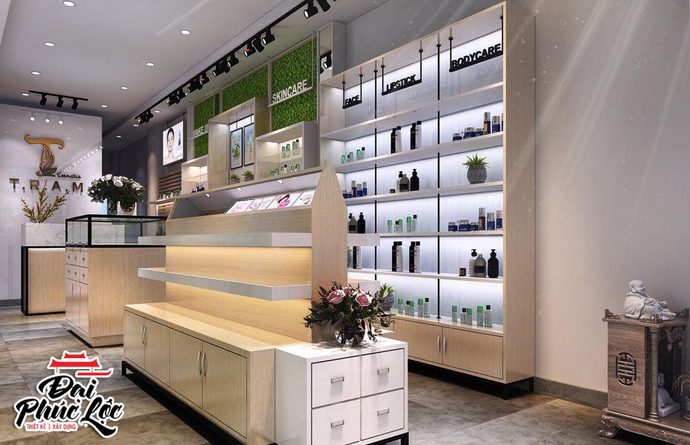 Thiết kế nội thất cửa hàng showroom