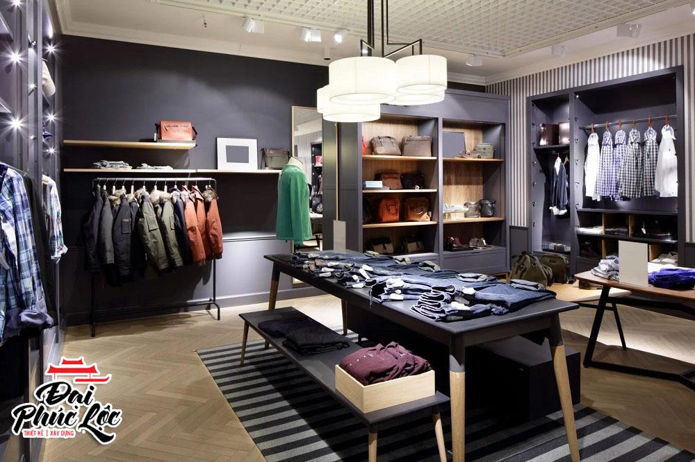 Thiết kế nội thất shop bán hàng
