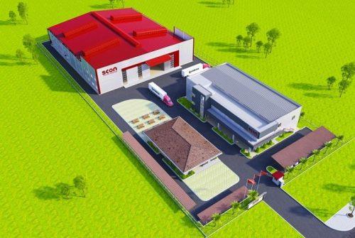 thiết kế nhà máy, nhà xưởng